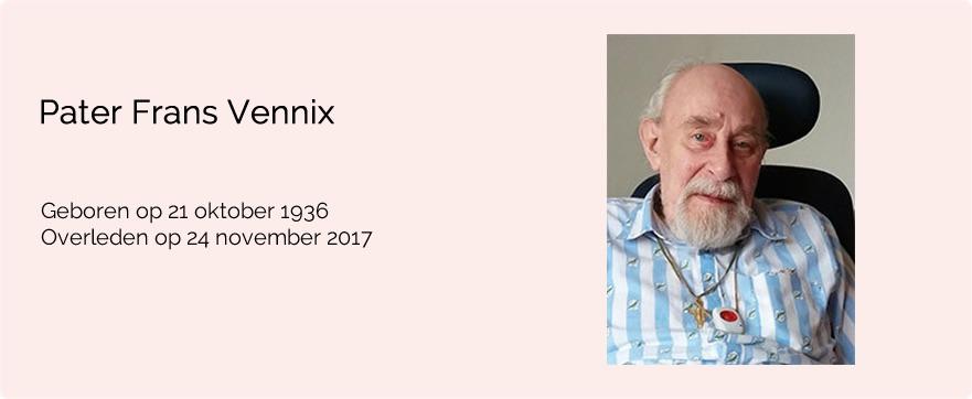 In memoriam pater Frans Vennix