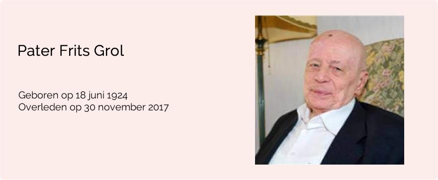 In memoriam pater Frits Grol