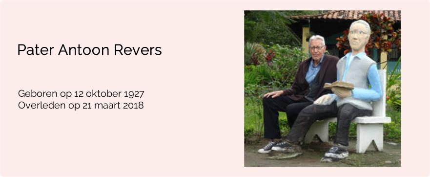 In memoriam pater Antoon Revers