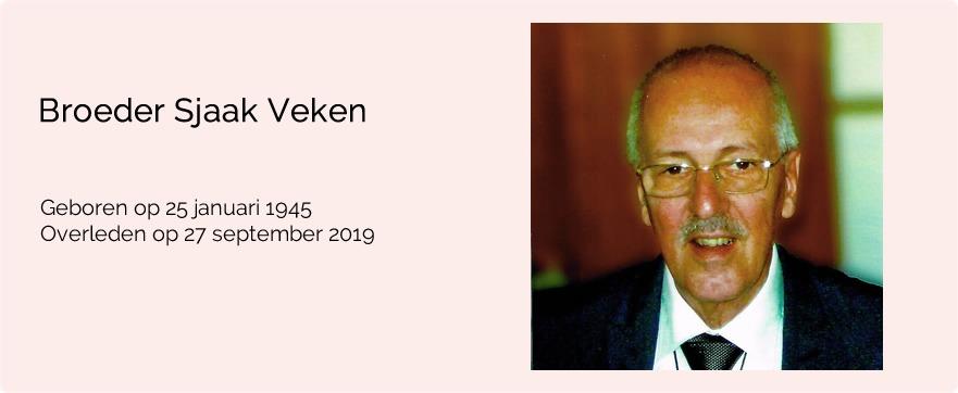 In memoriam broeder Sjaak Veken