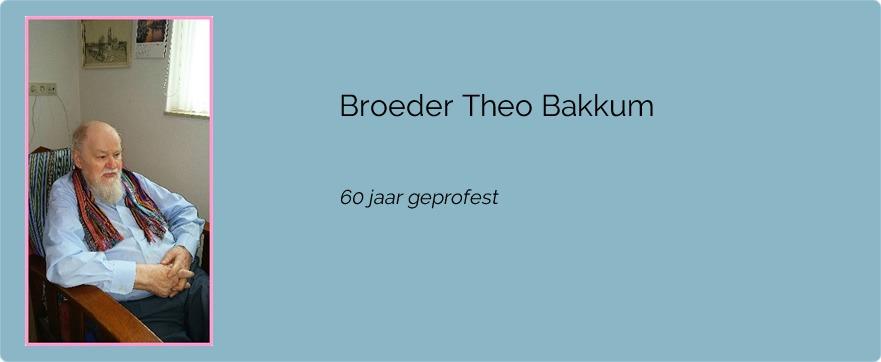 Broeder Theo Bakkum