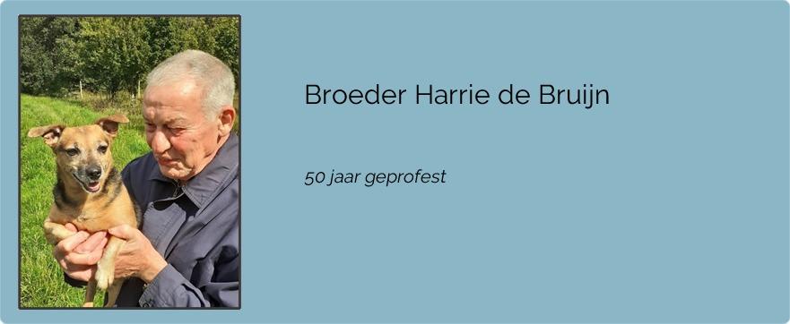 Broeder Harrie de Bruijn