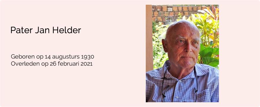 In memoriam pater Jan Helder