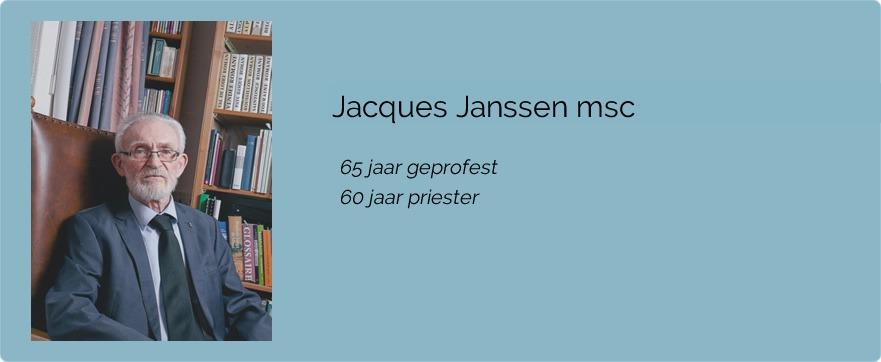 Jacques Janssen msc