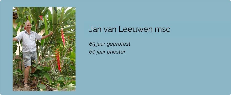 Jan van Leeuwen msc