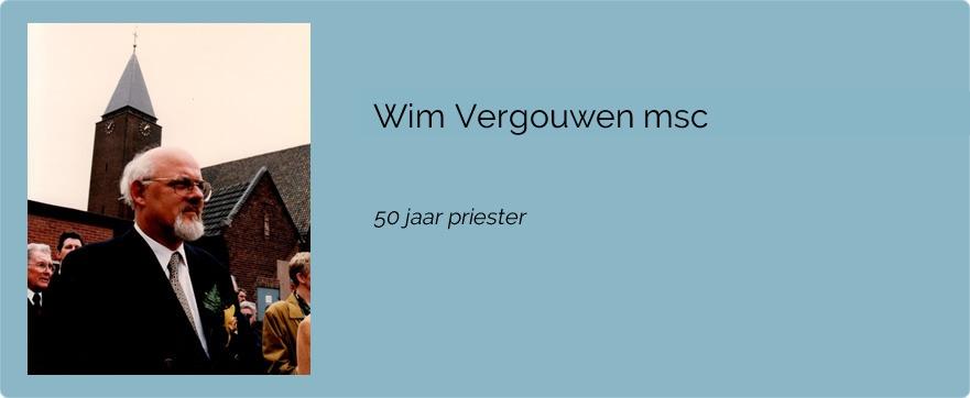 Wim Vergouwen msc
